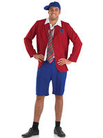 Men's School Boy Costume