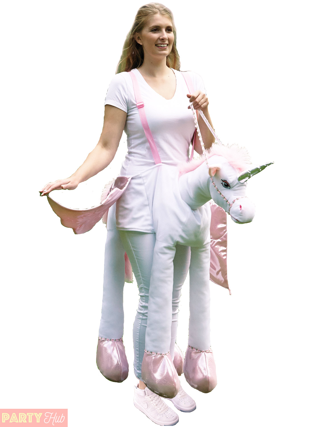 Adults ride on unicorn costume ladies magical pegasus pony carnival adults ride on unicorn costume ladies magical pegasus solutioingenieria Image collections
