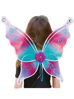 Girl's Travis Designs Fairy Set - Aquamarine Jewel Wings