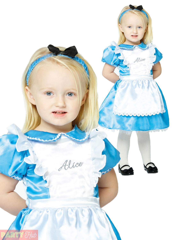 Girls Alice In Wonderland Costume Baby Toddler Fairytale