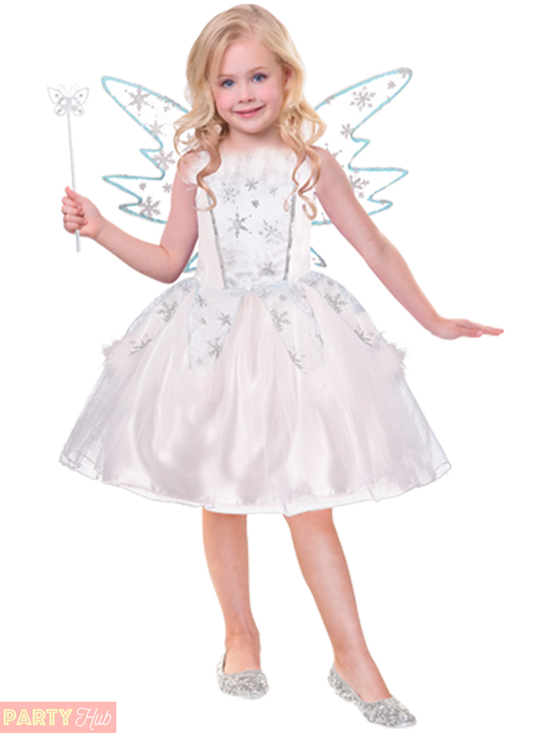 girls deluxe fairy costume childs toddlers fairytale