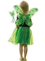 Girl's Green Sparkle Fairy Set