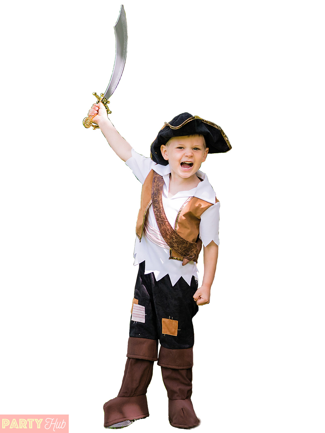 If your kids love Pirates, these costumes will have them ready to explore the oceans. Fancy dress outfits, hooks and eyepatches can be delivered to you faster .