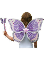 Girl's Travis Designs Fairy Set - Purple Glitter Set