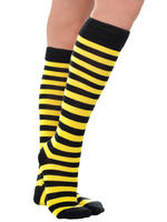 Ladies Bumble Bee Knee High Socks