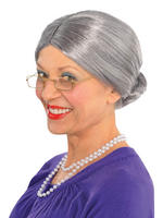 Ladies Old Lady Wig