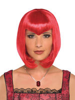 Ladies Red Bob Wig