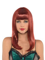 Ladies Auburn Wig