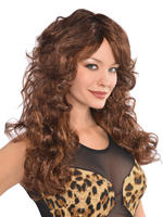 Ladies Brown Fabulous Wig