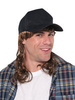 Adult's Trucker Hat with Mullet