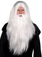 Men's Sorcerer Wig & Beard