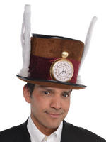 Adult's Deluxe Mad Hatter Hat
