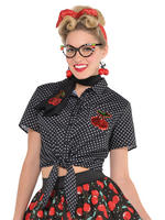 Ladies Rockabilly Blouse