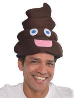 Adult's Poo Emoji Hat