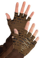 Adult's Witch Doctor Cropped Gloves
