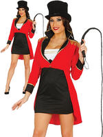 Ladies Ringmaster Costume