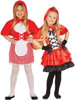 Girl's Little Red Riding Hood Costume