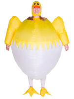 Adults Chick Inflatable Costume