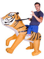 Adults Tiger Inflatable Costume