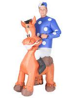 Adults Jockey Inflatable Costume
