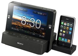 Sony ICF-CL751iP Clock Radio with iPod Dock & Photo Frame  Enlarged Preview