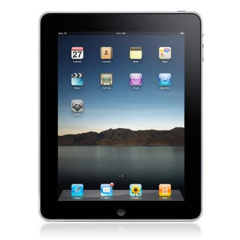 Apple iPad MC497B/A 64GB with Wi-Fi + 3G - Black (Bluetooth 2.1, Multi-touch) Enlarged Preview