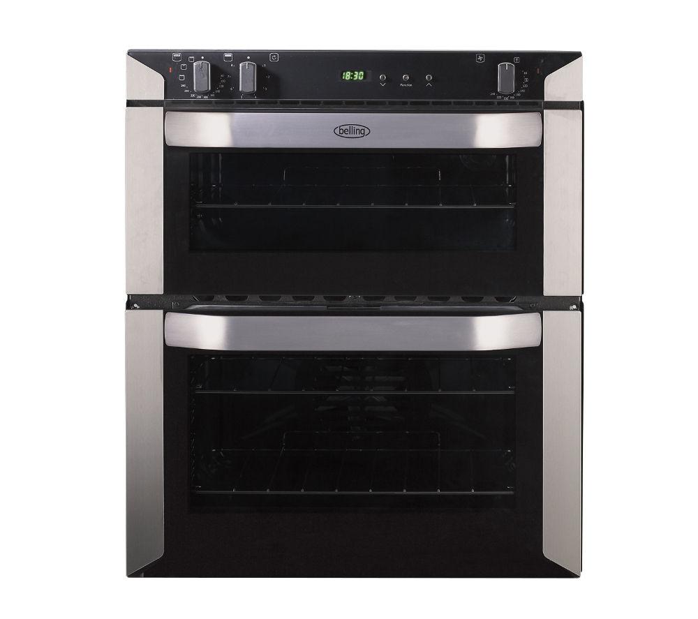 belling bi70fp electric built under double oven. Black Bedroom Furniture Sets. Home Design Ideas