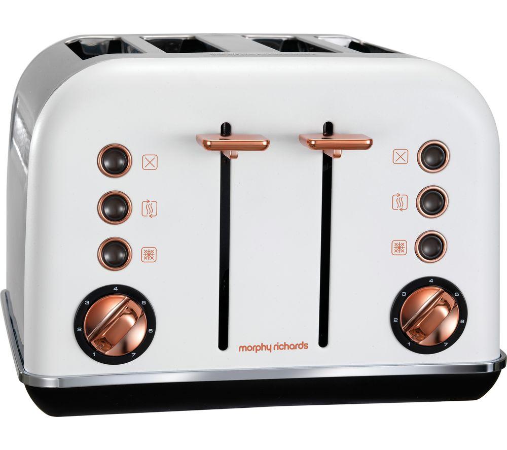 Slicwe Morphy Richards Toaster 4: MORPHY RICHARDS Accents 242106 4-Slice Toaster