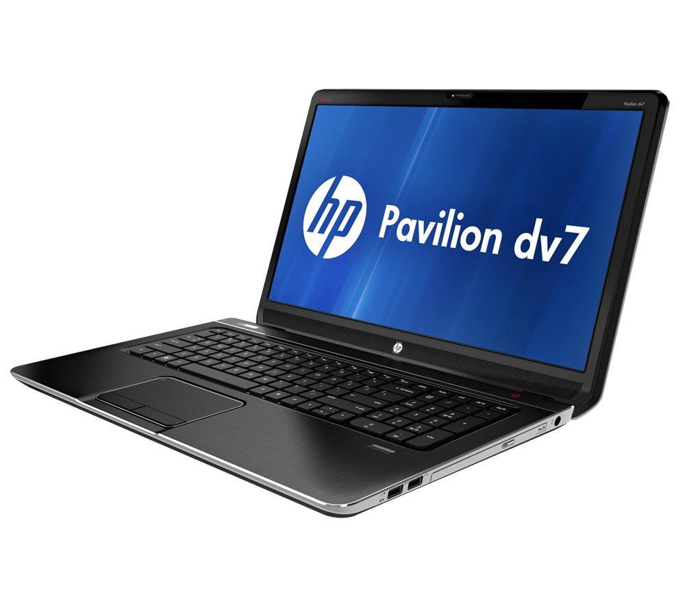 hp pavilion dv7 6051ea 17 3 laptop black grade b. Black Bedroom Furniture Sets. Home Design Ideas