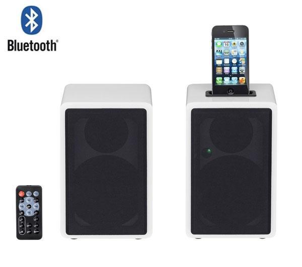 Sandstrom SBTD3012 iPod & iPhone Twin Wireless Speaker ...