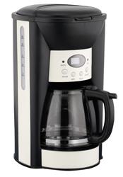 LOGIK LC10DCC12 Coffee Machine - Black & Cream - Unsealed eBay