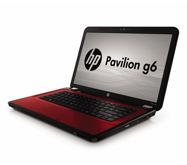 "Hewlett Packard HP Pavilion g6-1325ea 15.6"" Laptop - Red ..."