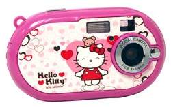 Vivitar Hello Kitty Pink Compact Digital Camera - Great starter camera for kids! Enlarged Preview