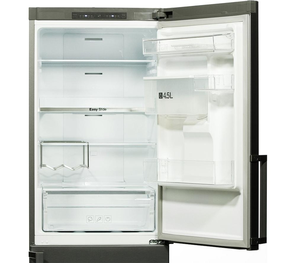 samsung rb29fwjndsa fridge freezer frost free a silver ebay. Black Bedroom Furniture Sets. Home Design Ideas