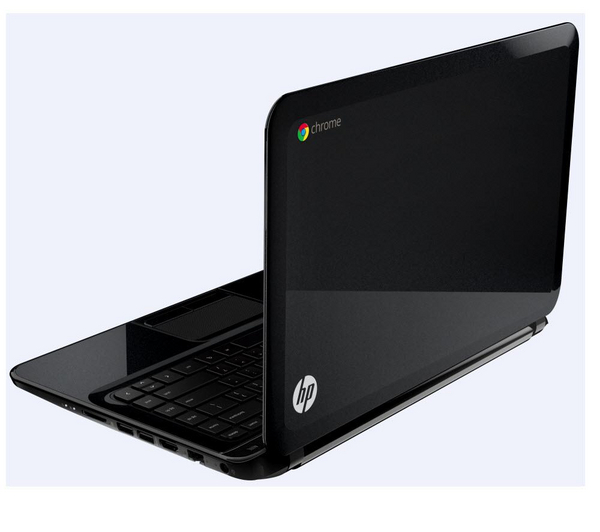 HP Pavilion 14-c001ea Chromebook (4GB RAM, 16GB HDD) -Black -Refurbished Grade A Enlarged Preview