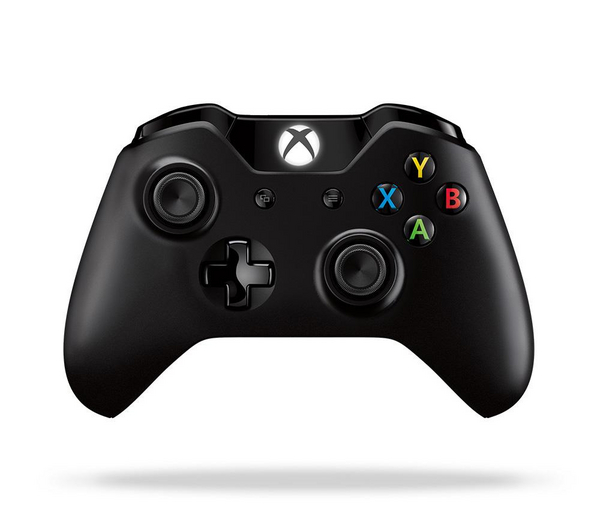 Microsoft Xbox One Wireless Controller & Play and Charge Kit  - Black – New Enlarged Preview