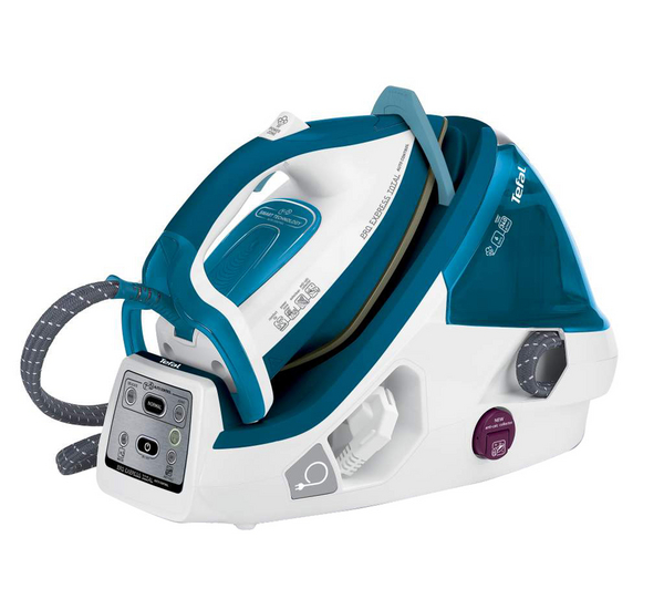 TEFAL Pro Express GV8961 Steam Generator Iron - Turquoise - Unsealed,Box Damage  Enlarged Preview