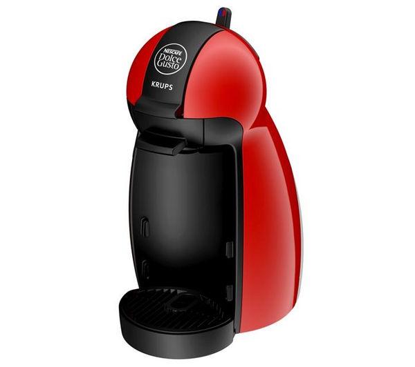 krups dolce gusto piccolo kp100640 hot drinks machine red 10942207139 ebay. Black Bedroom Furniture Sets. Home Design Ideas