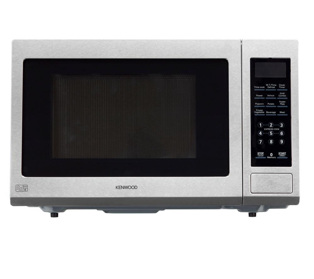 kenwood k30gss13 microwave with grill stainless steel 900w 30litres capacity ebay. Black Bedroom Furniture Sets. Home Design Ideas