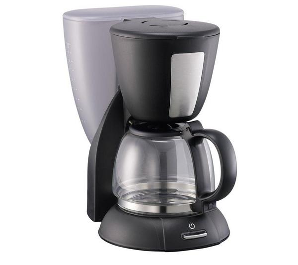 Currys Black Friday Coffee Maker : LOGIK L12FCB12 Coffee Maker (washable filter) - Black - Unsealed, Missing Parts eBay
