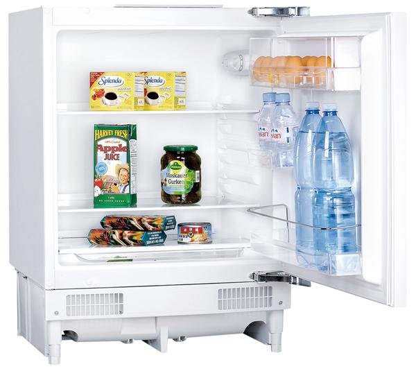 essentials cil60w14 integrated undercounter fridge white. Black Bedroom Furniture Sets. Home Design Ideas