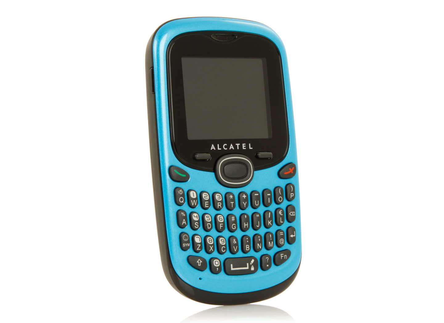 alcatel ot 255 mobile phone 1 8 fresh turquoise unlocked unsealed ebay. Black Bedroom Furniture Sets. Home Design Ideas