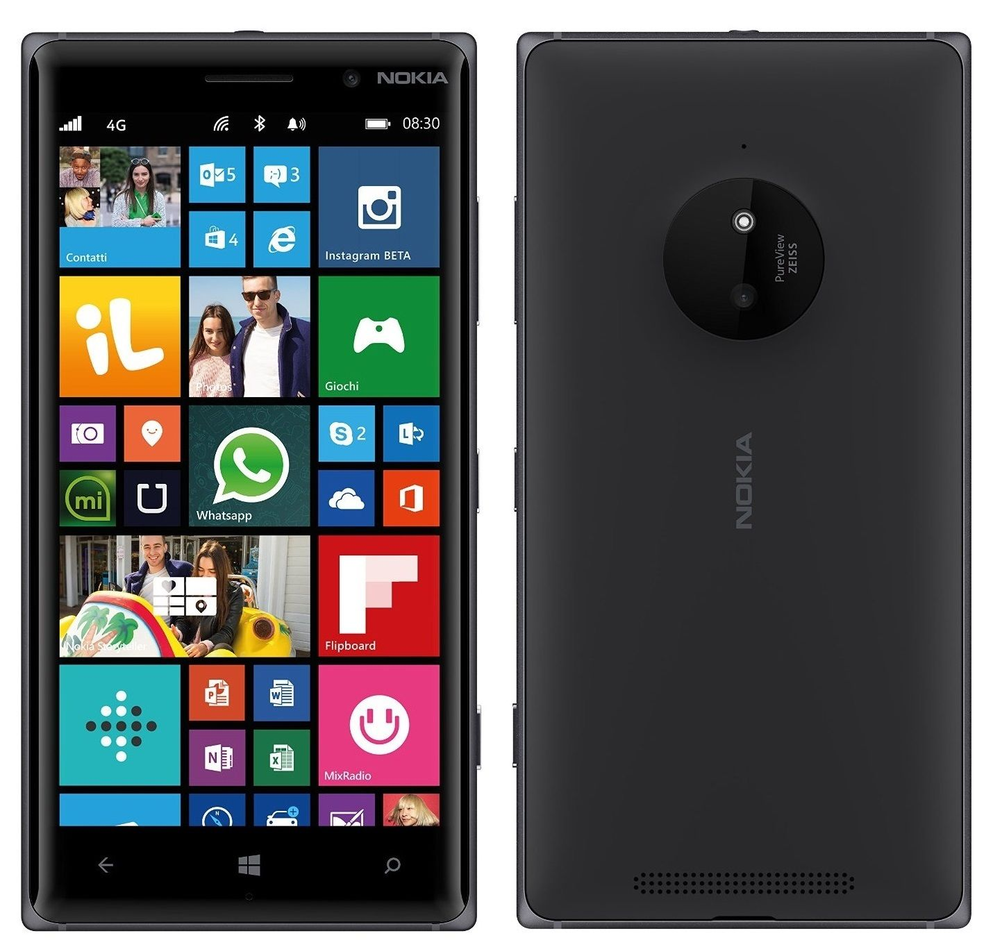 Currys PC World - Nokia Lumia 830 Unlocked 5 quot  Smartphone - Black  16GB