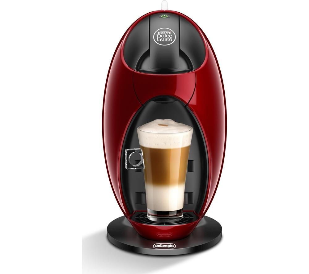 Delonghi Coffee Maker Ec330 Pods : DELONGHI Dolce Gusto Jovia EDG250.R Hot Drinks Machine Pod coffee 0.8 l Red 787162757422 eBay
