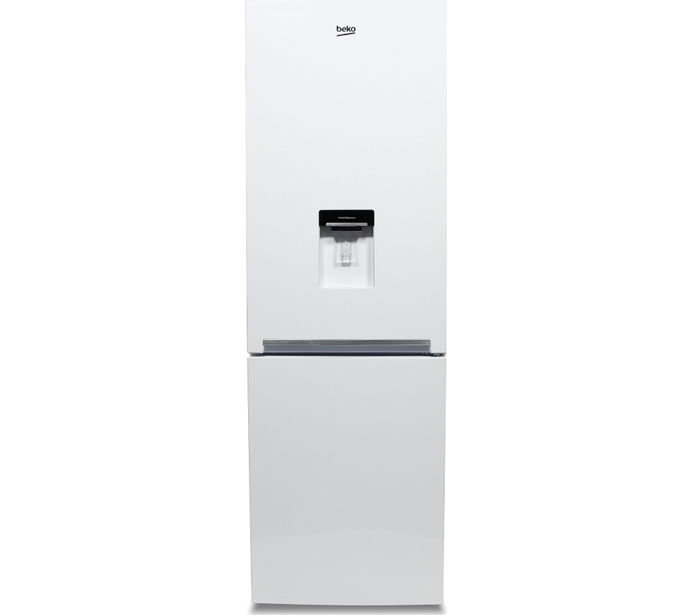 beko cxfg1685dw fridge freezer white frost free water dispenser 322 litres ebay. Black Bedroom Furniture Sets. Home Design Ideas