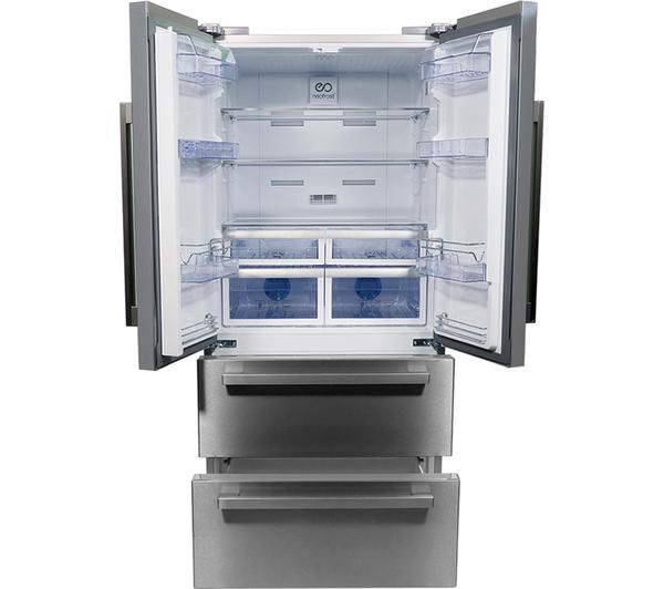 Beko Gne60520x American Style Fridge Freezer 397l Amp 152l