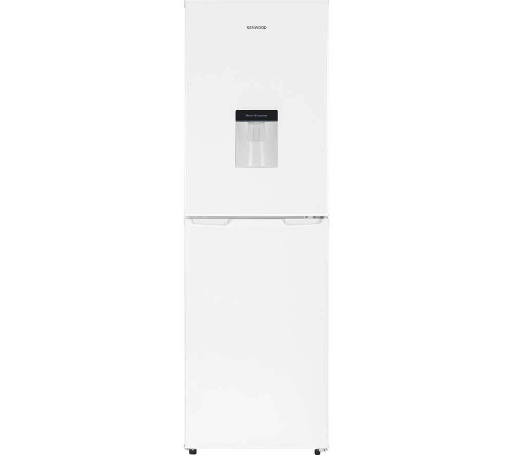 kenwood kfcd55w15 fridge freezer white frost free 225 litres water dispenser. Black Bedroom Furniture Sets. Home Design Ideas