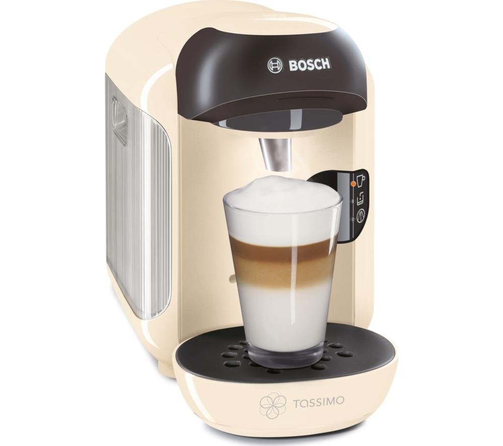 bosch tassimo vivy ii tas1257gb plastic coffee pod hot drinks machine cream 4242002838076 ebay. Black Bedroom Furniture Sets. Home Design Ideas