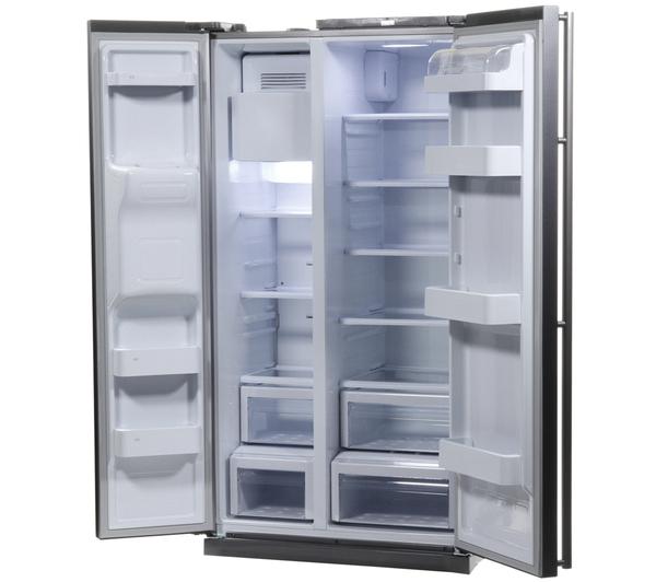 Samsung American Freezer Part - 41: SAMSUNG RSA1UTMG American-Style Fridge Freezer Water U0026 Ice Dispenser -  Graphite