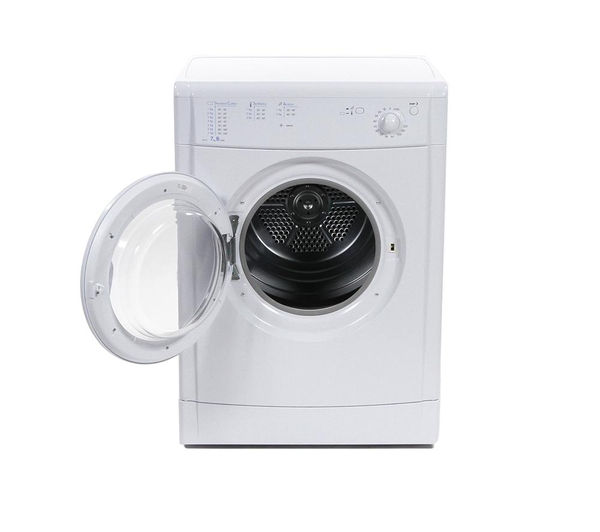 indesit idv75 vented tumble dryer 7kg freest ing front loading white ebay. Black Bedroom Furniture Sets. Home Design Ideas